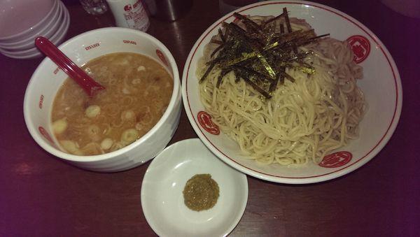 「つけ麺、特盛」@ラーメン 唐そば 渋谷2丁目店の写真