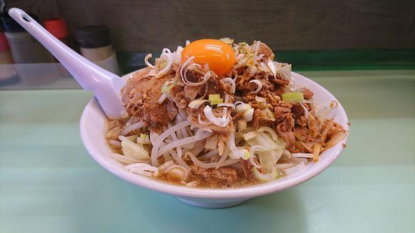 「肉ふじ+ミニチャーシュー丼」@中華 飛天の写真