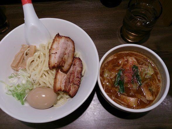 「つけ麺 全部のせ」@らーめん神宮の写真