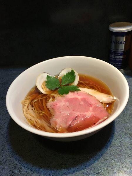 「醤油ラーメン」@とものもとの写真