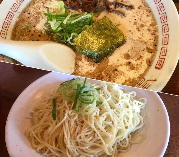 「豚骨醤油ラーメン¥500+替玉¥50」@十七代目 哲麺 小平店の写真