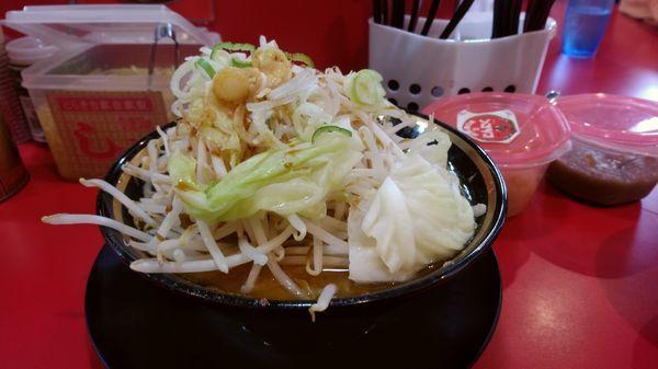 「野菜ラーメン(650円)」@家系ラーメン とらきち家の写真
