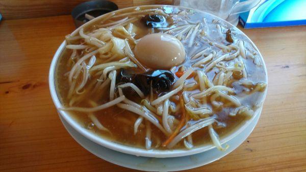 「サンマー麺 750円」@らーめん ポパイの写真