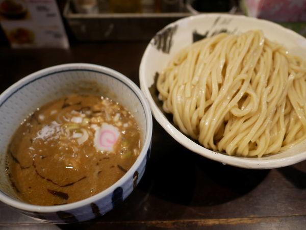「濃厚つけ麺 大盛」@銀座 朧月 目黒処の写真