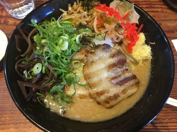 「ジパング麺(734¥)」@ジパング軒 宇都宮駒生店の写真