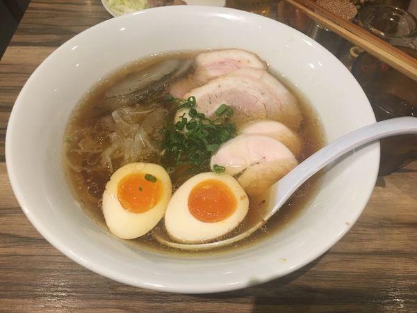 「旨味出汁ソバ」@ソラノイロ japanese soup noodle free styleの写真