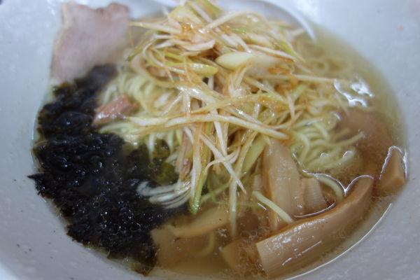 「ネギ塩ラーメン790円」@中華蕎麦 みやまの写真