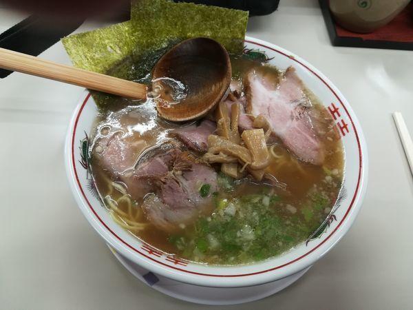 「チャーシュー麺750円」@ラーメンショップ 希望ヶ丘店の写真