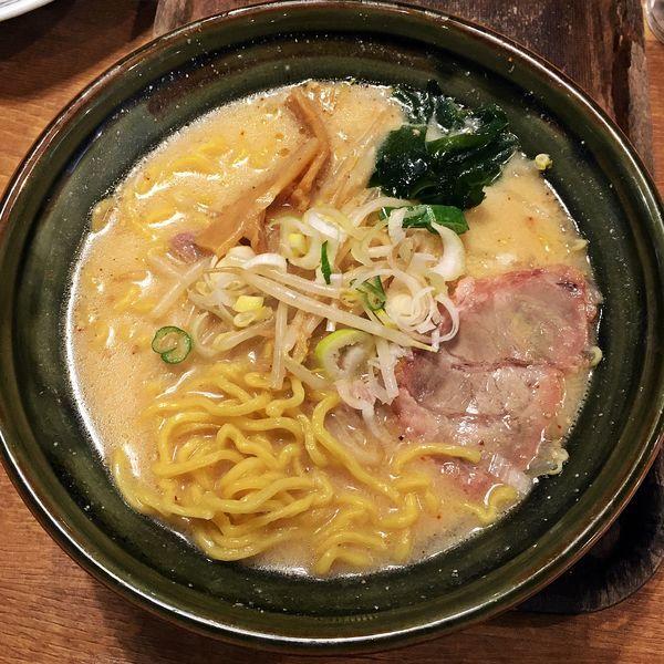 「味噌らーめん(大盛り)¥700」@手作りの味噌らーめん 味噌樽の写真