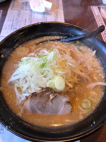 「味噌モヤシラーメン」@らーめん えん者の写真