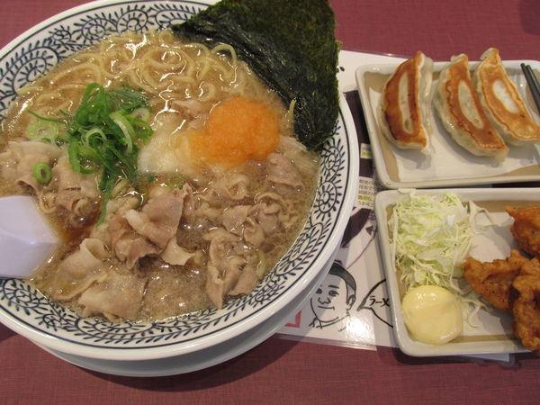 「餃子・からあげランチ 「972円」」@丸源ラーメン 春日部16号バイパス店の写真
