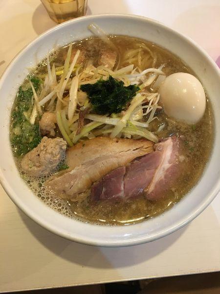 「【限定】ネギ煮干しラーメン(塩)」@はりけんラーメンの写真