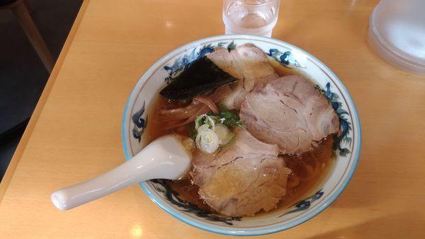 「チャーシュー麺 硬め」@来集軒の写真