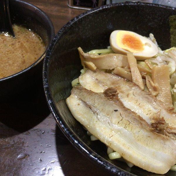 「エビつけ麺」@初代 一撃 大信家の写真