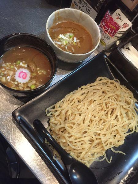 「【22日限定】食べ比べつけ麺」@四代目 けいすけの写真