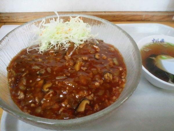 「炸醤麺 850円」@中華 十八番の写真