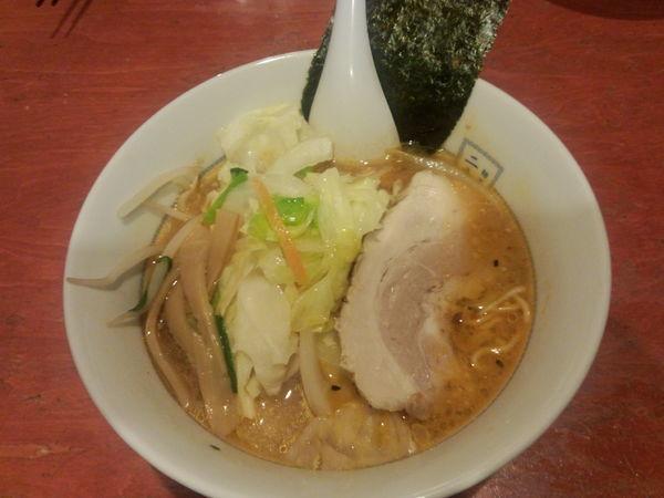 「味噌野菜ラーメン930円」@麺屋二八の写真