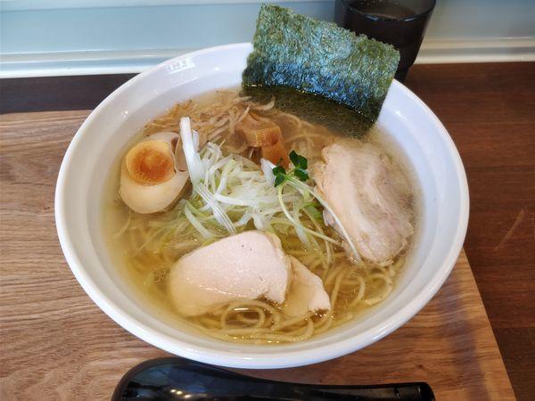 「塩とりそば¥800+チャーシュー飯 小¥280」@麺屋 冽 -RETSU- 上尾店の写真