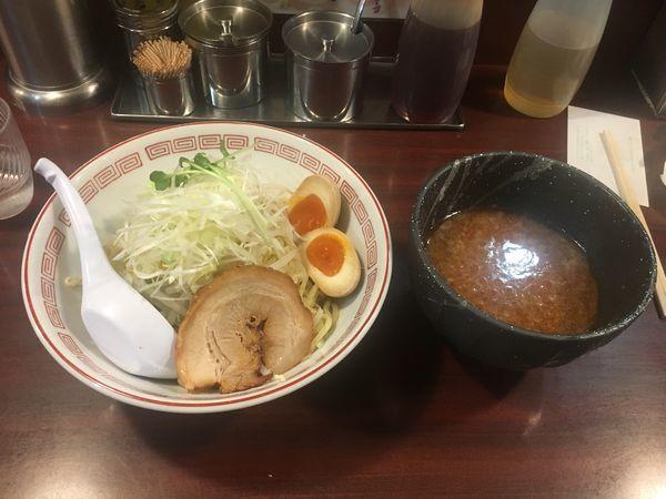 「つけ麺味玉子」@ぶぶか 吉祥寺北口店の写真