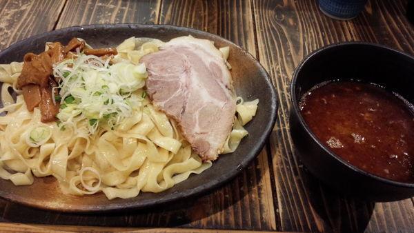 「お魚つけ麺」@ラーメン ヨシベー 西葛西店の写真