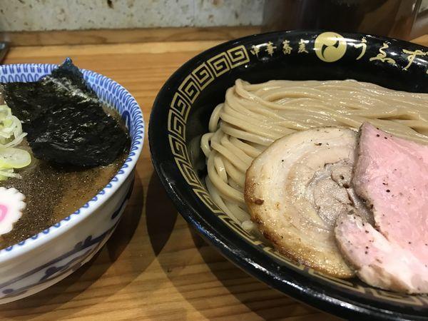 「つけ麺(特)」@中華蕎麦うゑずの写真