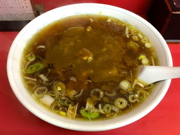「カレーラーメン」@中華料理 味楽の写真