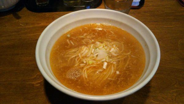 「(平日限定)素ラーメン塩エビ風味」@はりけんラーメンの写真