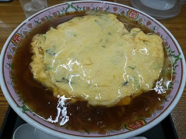 「天津麺 (大盛り)」@餃子の王将 松本島内店の写真