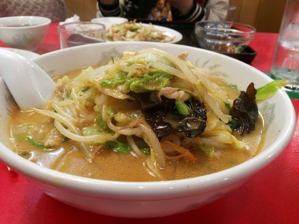 「ミソ野菜ラーメン」@萬来 加須店の写真