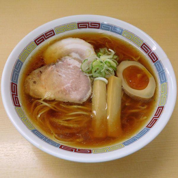 「昔ながらのらーめん(こいくち醤油 780円)」@煮干鰮らーめん 圓の写真