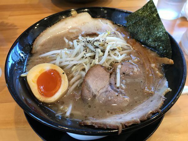 「とこ豚骨ラーメン」@麦笑 豊田店の写真