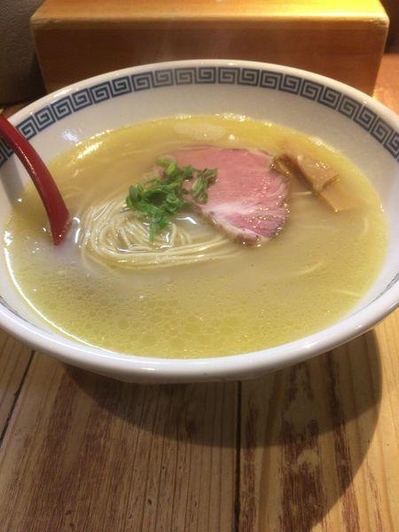 「塩らーめん」@麺肆 秀膽の写真
