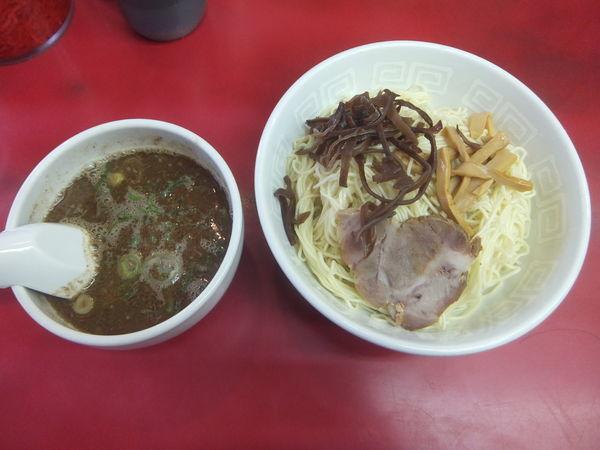 「つけ麺450円(替え玉無料)」@博多天神 新宿西口店の写真