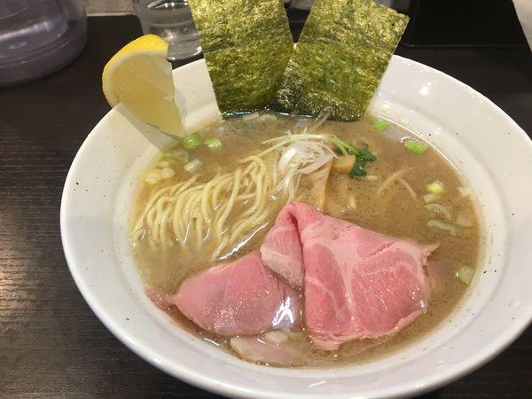 「鯛ラーメン880円」@拉麺 ほそやの写真