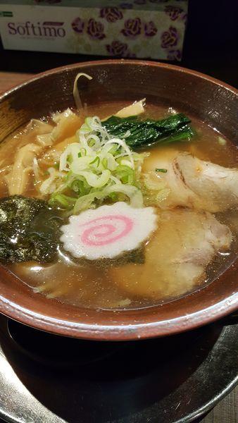 「煮干しラーメン」@しゃがら 新潟駅店の写真
