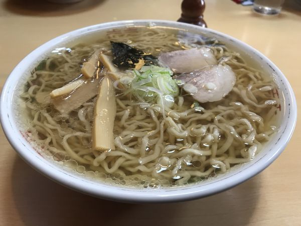 「中華そば 550円」@たらふくの写真