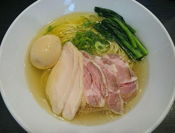 「特製芳醇鶏そば(塩)」@麺や福はらの写真