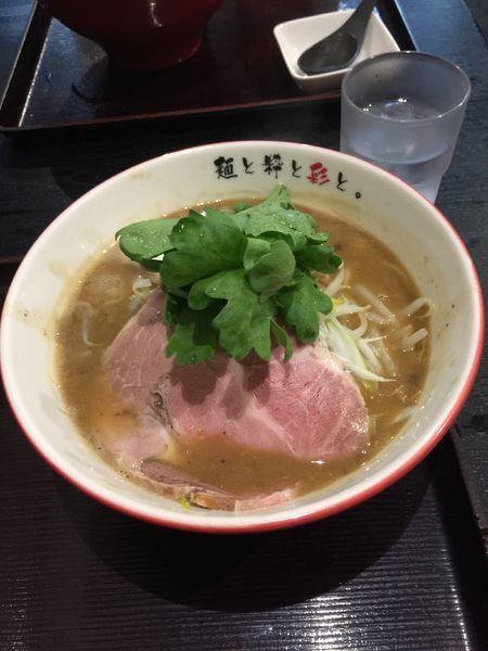 「パイタン味噌」@麺屋 彩々 昭和町本店の写真
