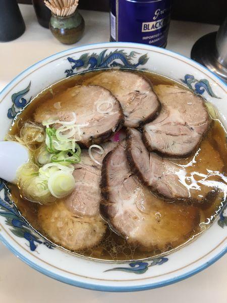 「チャーシュー麺」@田中食堂の写真