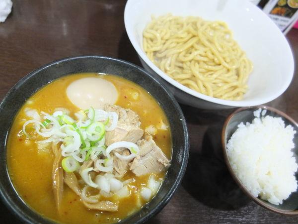 「カレーつけ麺」@らぁ麺 一歩の写真