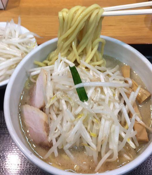 「海老味噌ラーメン野菜大盛870円」@味噌麺処 花道の写真