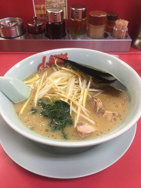 「ねぎラーメン醤油味」@ラーメン山岡家 音羽蒲郡店の写真