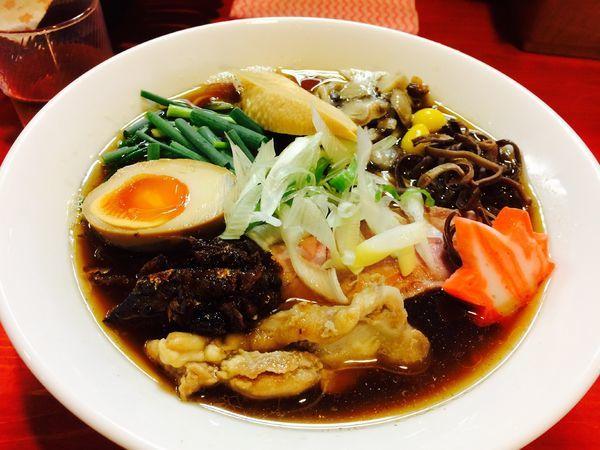 「【限定】秋刀魚節ラーメン(中盛り)」@讃岐ラーメン はまんど横須賀の写真