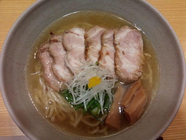 「塩ラーメン」@山﨑麺二郎の写真