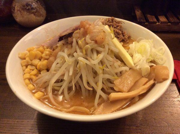 「限定味噌コーンバター」@高木のぶぅの写真