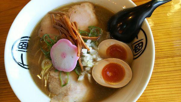 「煮干しとんこつ」@和歌山ラーメン 七星の写真