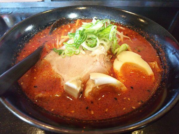 「辛味噌らーめん(太麺)レベル3」@らーめん いっかくの写真