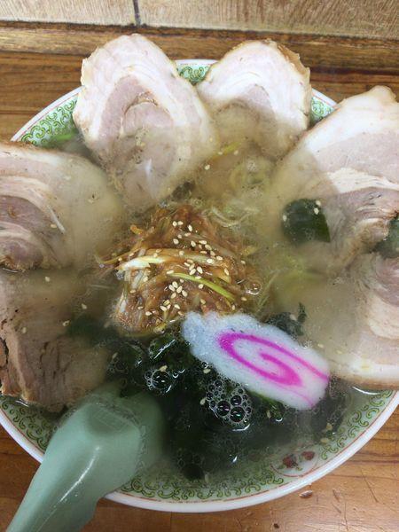 「ネギチャーシュー麺¥980」@手打ちラーメン 丸富の写真