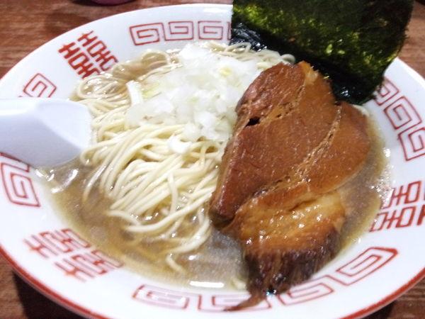 「【限定】淡麗中華そば」@麺や 而今 大東本店の写真