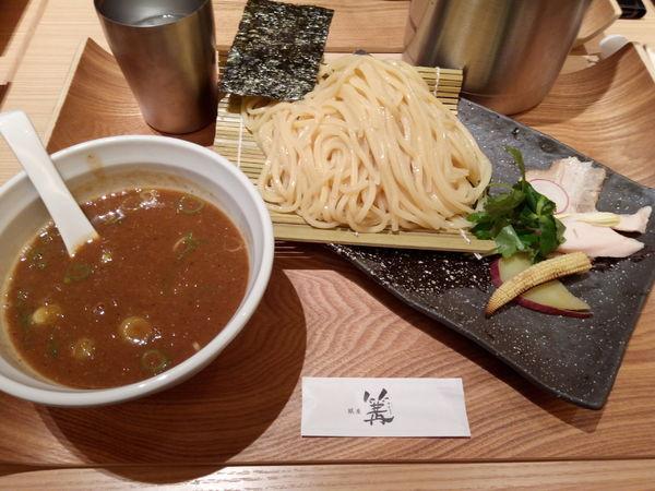 「濃厚つけSOBA」@銀座 篝 ルクア大阪店の写真